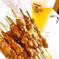 ウイグル料理EPENDI - ラム肉の串焼き―カワプ