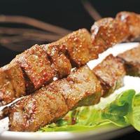 ウイグル料理EPENDI - 牛レバの串焼きージゲカワプ