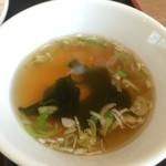 56916436 - 2016年7月 土鍋マーボーセット850円(税込)スープアップ