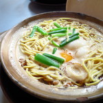 まゆみの店 - 鍋焼きラーメン(並)600円