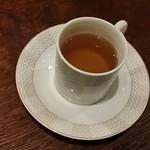 BAR35 - 【H28.9.30.ブルゴーニュを俯瞰するワイン会】秋を感じる香り高い茸のスープ。