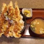 天ぷら桂 - 海老天丼