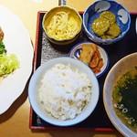 56919945 - お昼から神戸ビーフ!神戸牛ロースセット2300円