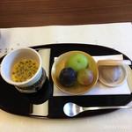 柚木元 - デザート、ここのトロトロプリン大好き!