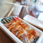 タイエー - 料理写真:やきとり弁当(うま辛だれ