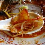 らーめん さのまる - 辛味噌・炒め野菜