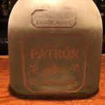 BAR武蔵 - パトロンってプレミアム・テキーラ。瓶までオサレ。