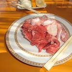 56924878 - 牛肉、鶏肉