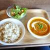 カフェ ロポ - 料理写真:バターチキンカレーセット