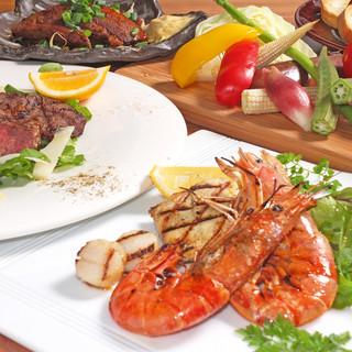 イタリアンを中心とした多種多彩な料理