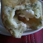 桜楓堂 - 3種のチーズとベーコンパン断面