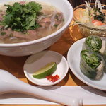 ベトナムキッチン アンジー - ランチ・レディースセットで牛肉のフォー