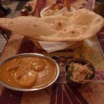 Indian Restaurant Shri Aruna - 本日のランチ