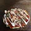葵 - 料理写真:豚玉お好み焼き ランチ用だから厚みはありません。