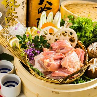 ◆名古屋コーチン8品+3h飲放5000円⇒3499円◆