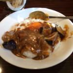 欧風カレー食堂 jizi ジジ - ナスにしました。