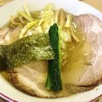 支那そば心麺 - 富山ホワイトチャーシューメン 1150円