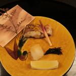 浅田屋 - 焼物 のど黒唐墨焼き杉板かぶせ