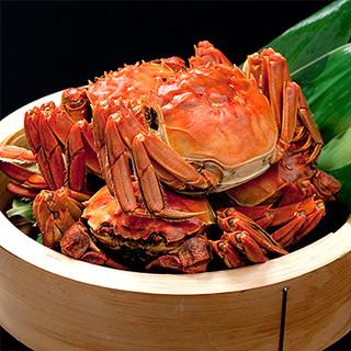 2018の『上海蟹メニュー』は10/6スタートです。