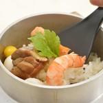 和食 かつら - 料理写真:釜めし