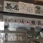三宮個室居酒屋 宴海の幸 活き意気 - ビル案内板