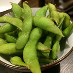 中も津屋 - サイドメニューの枝豆