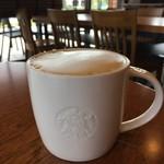 スターバックス・コーヒー - ドリンク写真:カプチーノ 330円
