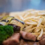 ステーキ&ワイン 大澤 - 茄子(なす)に豆芽(もやし)