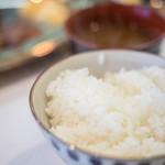 ステーキ&ワイン 大澤 - 米飯(こめのいひ)