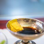 ステーキ&ワイン 大澤 - 芥子醤油(からしゞやうゆ)