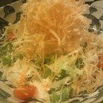 旬の魚と旨い地鶏 魚鶏屋 - パリパリポテトサラダ