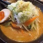 丸高屋 - 野菜味噌らーめん(ランチ)