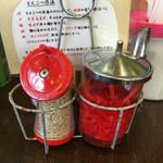 中村商店 - すりゴマ、紅しょうが
