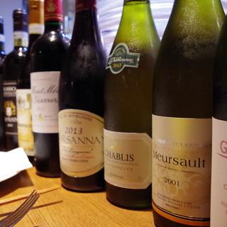 北海道の素材とイタリア・フランス・日本ワインを気軽に楽しむ