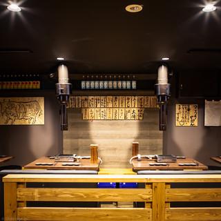 開放的な空間でお肉とお酒をお楽しみ頂けます♪