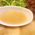 博多だるまネクスト - 2016年10月 スープ