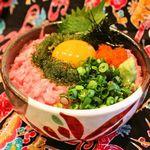 沖縄食堂 瀬戸海人 - ネギトロ海ぶどう丼