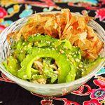 沖縄食堂 瀬戸海人 - ゴーヤーとツナの梅風味和え