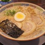 大砲ラーメン - 2016年10月 昔ラーメン大盛り(750円)