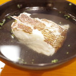 山映 - 椀:鯛の潮汁