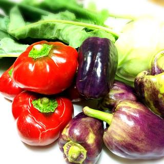 葉山から毎日仕入れる鮮度抜群の鎌倉野菜☆