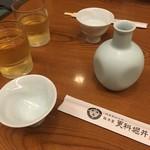 総本家更科堀井 - 今夜はお蕎麦屋さんで\(^o^)/ 開運というお酒でスタート!