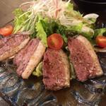 鶏匠 暁 - 鴨ロースの炙りサラダ