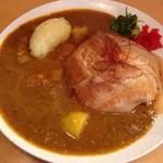 とろ肉つけ麺 魚とん - とろ肉ライスカレー