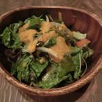 肉酒場 ブラチョーラ - グリーンサラダ600円