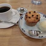 エゾリス珈琲店 - ブレンドコーヒー430円