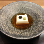 湖月 - 胡麻豆腐、キャビア、山葵