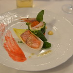 ハミルトン宇礼志野 - 夕食 海の幸と旬野菜春の香り