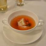 ハミルトン宇礼志野 - 有田鶏のコンソメスープ