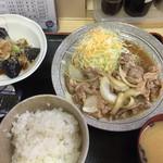 淀 - 生姜焼き定食1,100円